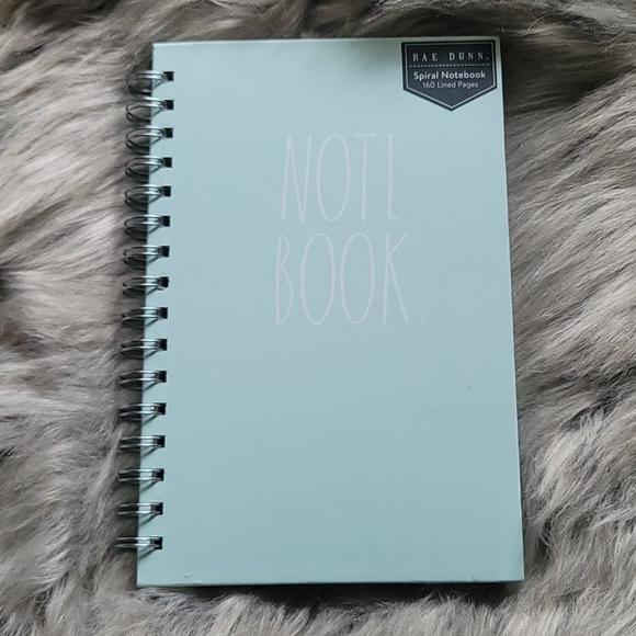 💄Rae Dunn Spiral Notebook- light blue